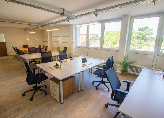 Coworking Bereich